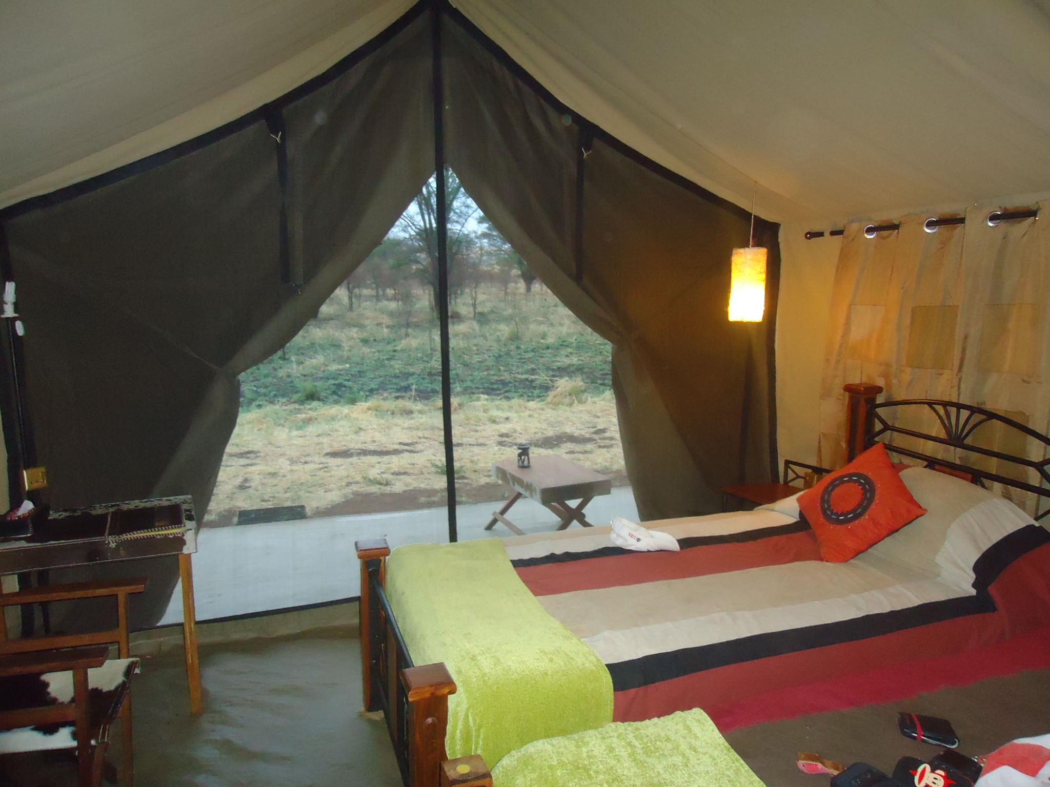 Image result for sleep camp in serengeti