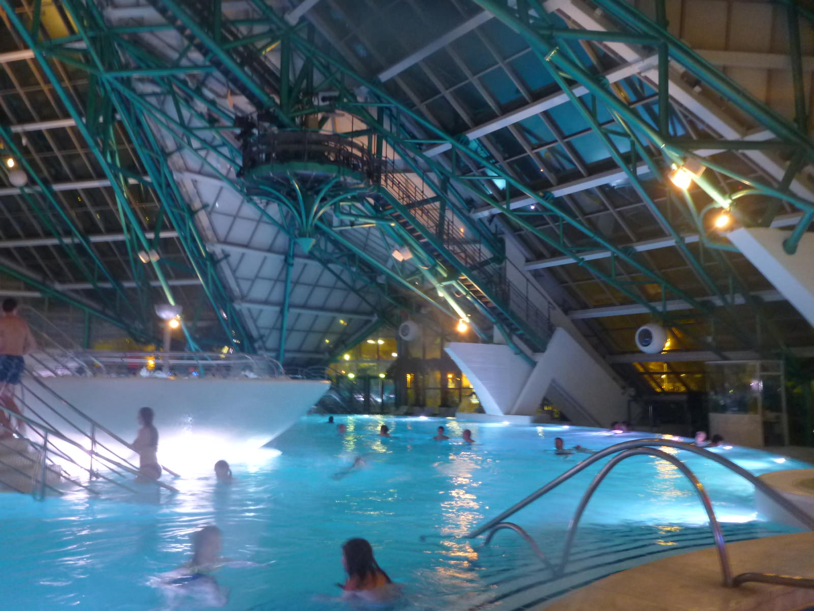 A Night Of Relaxation At Southern Europes Largest Spa Caldea